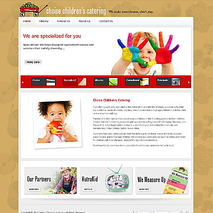 Choice Children's Catering
